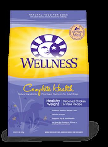 WELLNESS COMPLETE HEALTH Healthy Weight Dry Diet and Weight Management Food for All Life Stages