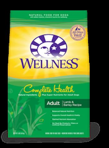 WELLNESS COMPLETE HEALTH Lamb Dry Dog Food for All Life Stages
