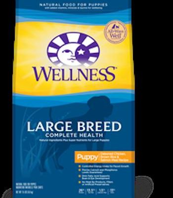 WELLNESS COMPLETE HEALTH Large Breed Puppy Health Dry Dog Food
