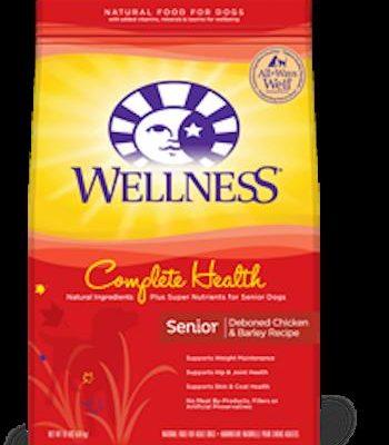 WELLNESS COMPLETE HEALTH Senior Dry Dog Food
