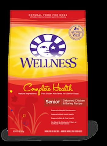 WELLNESS COMPLETE HEALTH Senior Dry Dog Food