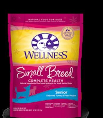 WELLNESS COMPLETE HEALTH Small Breed Senior Dry Dog Food