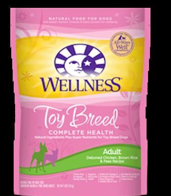 WELLNESS COMPLETE HEALTH Toy and Small Breed Chicken Dry Adult Dog Food