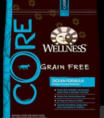 WELLNESS CORE GRAIN FREE Ocean Formula Dry Dog Food for All Life Stages