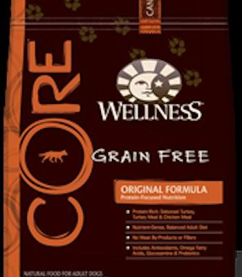 WELLNESS CORE GRAIN FREE Original Formula Dry Dog Food for All Life Stages