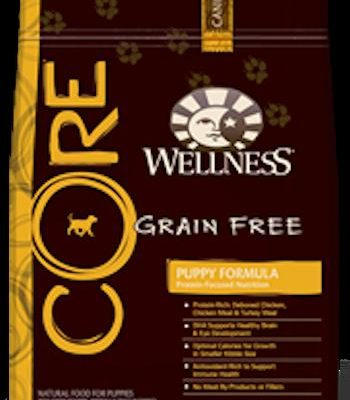 WELLNESS CORE GRAIN FREE Puppy Formula Dry Dog Food