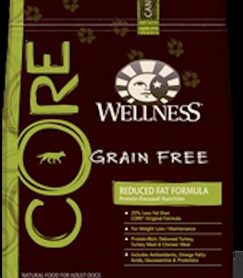 WELLNESS CORE GRAIN FREE Dog Food - Reduced Fat Formula Diet and Weight Management Food for All Life Stages