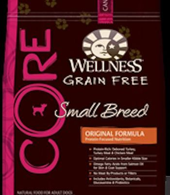 WELLNESS CORE GRAIN FREE Small Breed Formula Dry Dog Food for All Life Stages