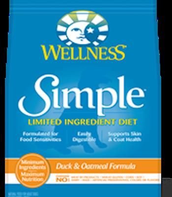 WELLNESS CORE SIMPLE SOLUTIONS Duck Dry Dog Food for All Life Stages