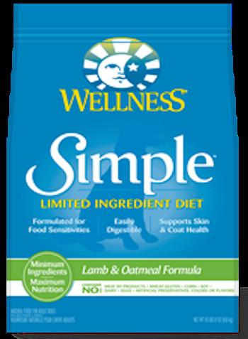 WELLNESS CORE SIMPLE SOLUTIONS Lamb Dry Dog Food for All Life Stages
