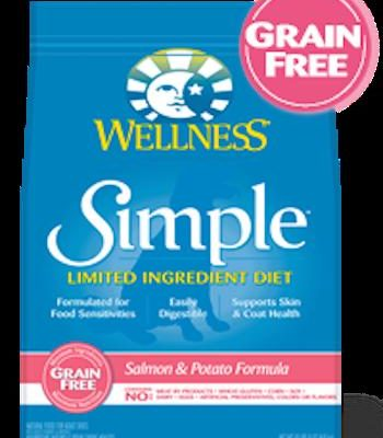 WELLNESS CORE SIMPLE SOLUTIONS Salmon Dry Dog Food for All Life Stages - Grain Free