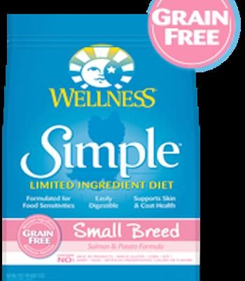 WELLNESS CORE SIMPLE SOLUTIONS Small Breed Salmon and Potato Dry Dog Food for All Life Stages