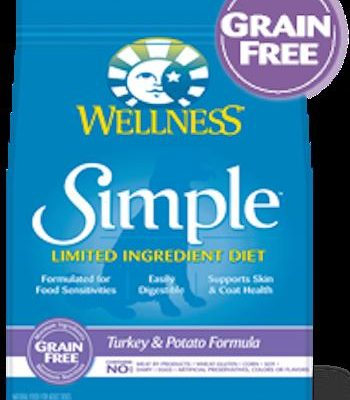 WELLNESS CORE SIMPLE SOLUTIONS Turkey and Potato Dry Dog Food for All Life Stages - Grain Free