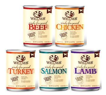 WELLNESS Mixer or Topper Canned Dog Food for All Life Stages