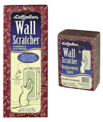 CAT DANCER - Cat Toys - Wall Scratcher / Wall Scratcher Refills