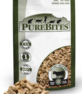 PUREBITES Cat Treats - Freeze Dried Beef Liver