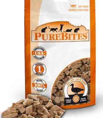 PUREBITES Cat Treats - Freeze Dried Duck Liver