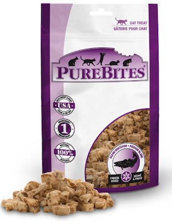 PUREBITES Cat Treats - Freeze Dried Ocean Whitefish
