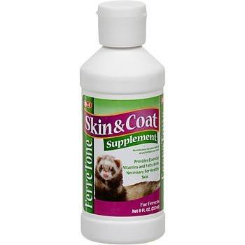 Buy 8 in 1 Ferretone Skin and Coat Liquid Supplement for Ferrets online in Canada