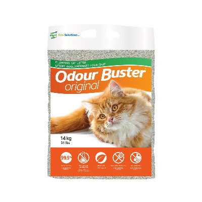 buy Eco-Solutions-Odour-Buster-Clumping-Cat-Litter