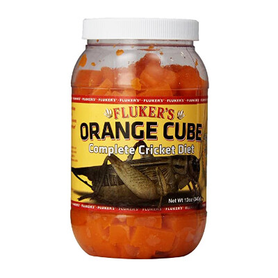 buy Flukers-Feeder-Insect-Orange-Cube-Complete-Cricket-Diet