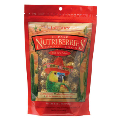 buy Lafebers Gourmet El Paso Nutri-Berries For Parrots
