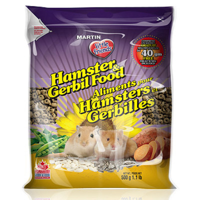 Buy Martin Mills Little Friends Extruded Hamster & Gerbil Food