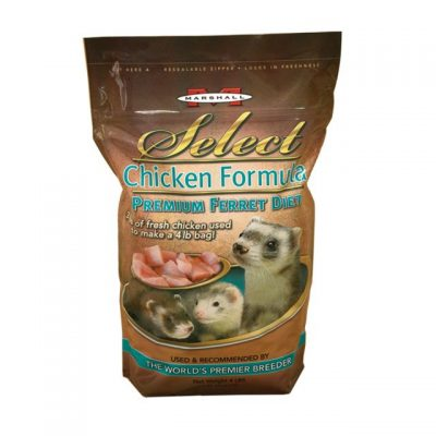 Buy Marshall Select premium chicken flavoured ferret food online in Canada from Canadian Pet Connection