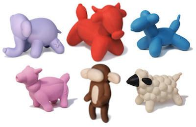 CHARMING PET - LATEX DOG TOYS - Balloon Animals (Mini, Small, Large) - Dog / Pig / Bull / Sheep / Monkey / Elephant