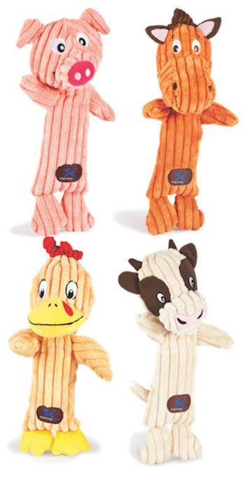 CHARMING PET - PLUSH DOG TOYS - Tennis Heads - Giraffe / Elephant / Monkey / Zebra