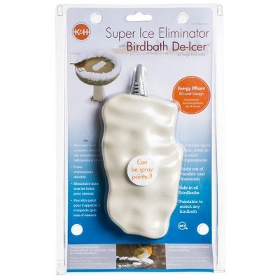 Super Ice Eliminator Bird Bath Deicers™ by K and H