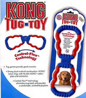 KONG Tug Toy and KONG Tails Toys and for Dogs