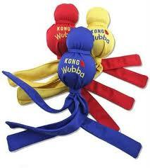 KONG WUBBA Dog Toy (Not for Heavy Chewers)