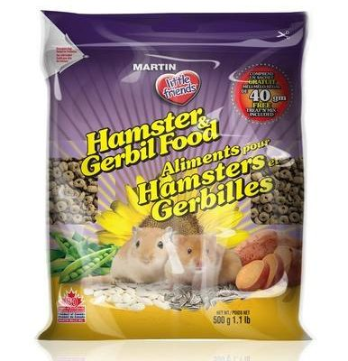 MARTIN Hamster and Gerbil Food 1kg