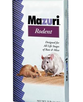 MAZURI Rodent Breeder Diet (SPECIAL ORDER-MAY TAKE 3-4 WEEKS FOR DELIVERY)