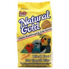 PRETTY BIRD Natural Gold Super Premium Small and Medium