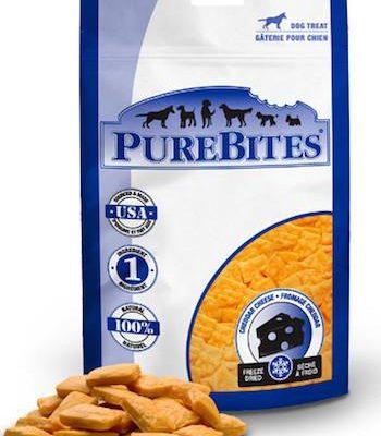PUREBITES Dog Treats - Freeze Dried Cheddar Cheese