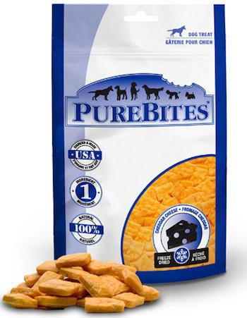 PUREBITES Dog Treats - Freeze Dried Cheddar Cheese