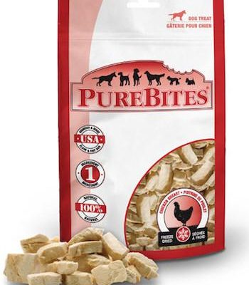 PUREBITES Dog Treats - Freeze Dried Chicken Breast