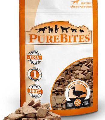PUREBITES Dog Treats - Freeze Dried Duck Liver