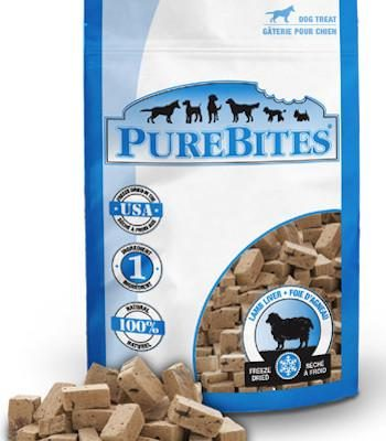 PUREBITES Dog Treats - Freeze Dried Lamb Liver