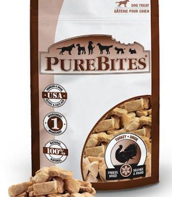 PUREBITES Dog Treats - Freeze Dried Turkey Breast