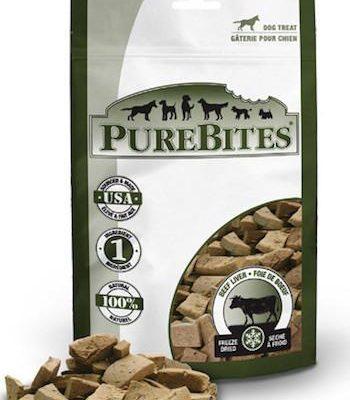 PURE BITES Dog Treats - Freeze Dried Beef Liver