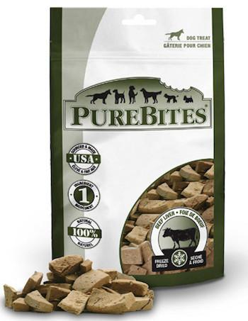 PURE BITES Dog Treats - Freeze Dried Beef Liver