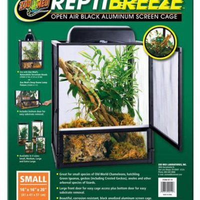 ZOO MED ReptiBreeze™ Screen Cage