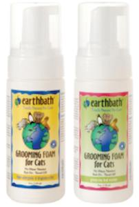 EARTHBATH Waterless Grooming Foam for Cats