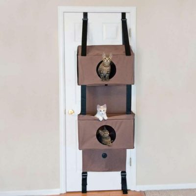 K AND H PET PRODUCTS - Hanging Condo and Playhouse for Cats