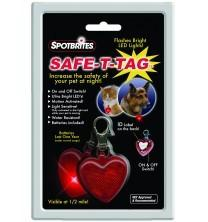 The Spotbrites Safe-T-Tag Safety Light