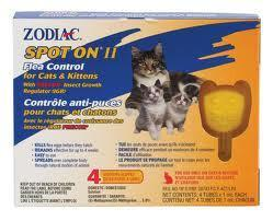 ZODIAC® Spot On ll For Cats & Kittens