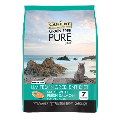 Buy Canidae Grain Free Pure Sea Cat and Kitten Food with Fresh Salmon